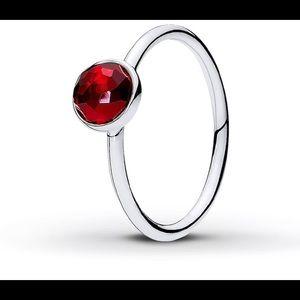 Pandora ruby red ring. NWT!